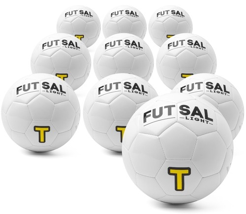 Futsal light - set of 10 high quality special balls (size 4)