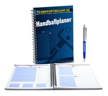Handball planner for the trainer - 100 sheets