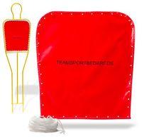 Reserve hoes – vrije trap pop 180 cm (kleur: rood)