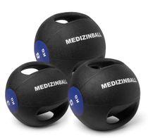 Medizinball mit Doppelgriff - 3 Größen