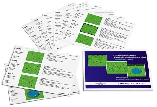 Fussball Trainingsplane Koordinationstraining Und Ballbehandlung E Jugend