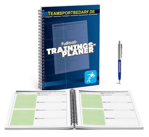 Fussball - Trainingsplaner (19x26 cm) 100 Seiten