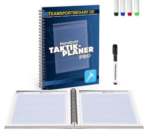 Handball - Taktikplaner PRO (19x26 cm) 30 Seiten