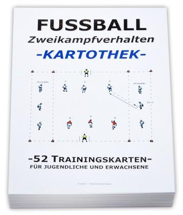 """FUSSBALL Trainingskartothek - """"Zweikampftraining"""""""