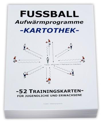 "FUSSBALL Trainingskartothek - ""Aufwärmprogramme"""