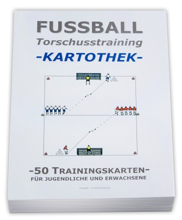 "FUSSBALL Trainingskartothek - ""Torschusstraining"""