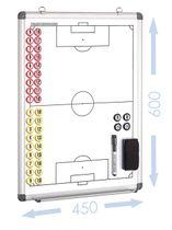 FUSSBALL - magnetische Taktiktafel 450 x 600 mm