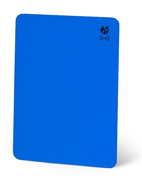 Schiedsrichter-Disziplinarkarte - blau