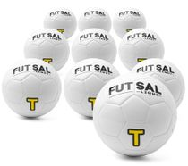 Futsal light - set of 10 high quality special balls (size 3)