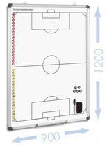 FUSSBALL - magnetische Taktiktafel 900 x 1200 mm B-WARE