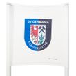 slalom poles panel (color: white) - with desired print
