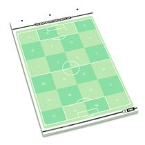 T-PRO football flip chart note pad - 25 sheets