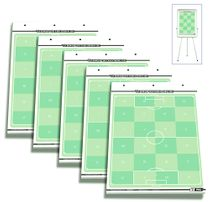 set of 5 - T-PRO football flip chart note pads
