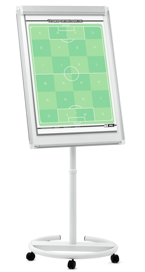 T-PRO - Fussball Taktik-Flipchart-Mobil 700 x 1000 mm