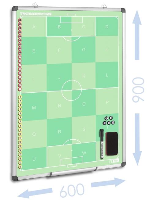T-PRO Taktiktafel 600 x 900 mm - Fussball