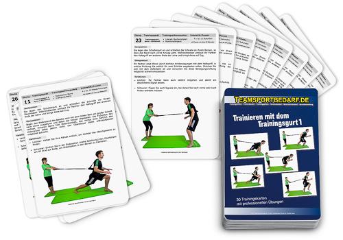 """Trainingskarten - """"Trainingsgurt 1"""" (30 Workouts)"""