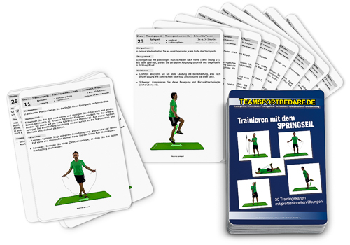 "Trainingskarten - ""Springseil"" (30 Workouts)"