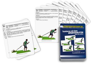 "Trainingskarten - ""Sprintschlitten"" (30 Workouts)"