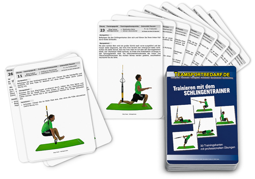 "Trainingskarten - ""Schlingentrainer"" (30 Workouts)"
