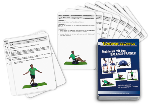 "Trainingskarten - ""Balance Trainer"" (30 Workouts)"