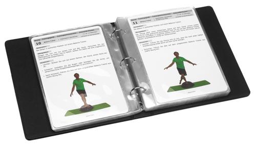 t pro trainingskarten mappe leder din a5 fussball. Black Bedroom Furniture Sets. Home Design Ideas