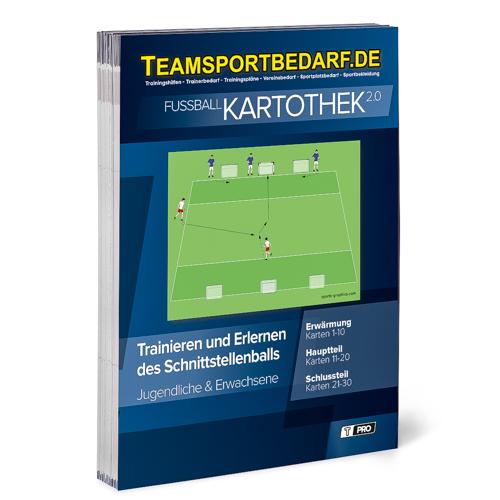 """T-PRO Kartothek 2.0 Fussball - """"Trainieren und Erlernen des Schnittstellenballs"""""""