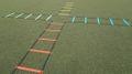 Kreuz-Koordinationsleiter - flach 4x2 m
