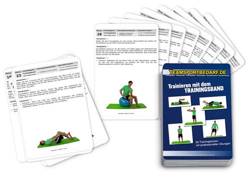 """Trainingskarten - """"Trainingsband"""" (30 Workouts)"""