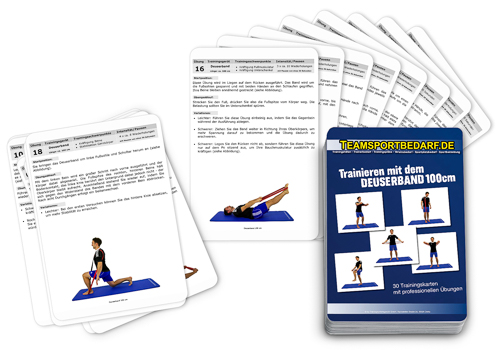 "Trainingskarten - ""Deuserband 100 cm"" (30 Workouts)"