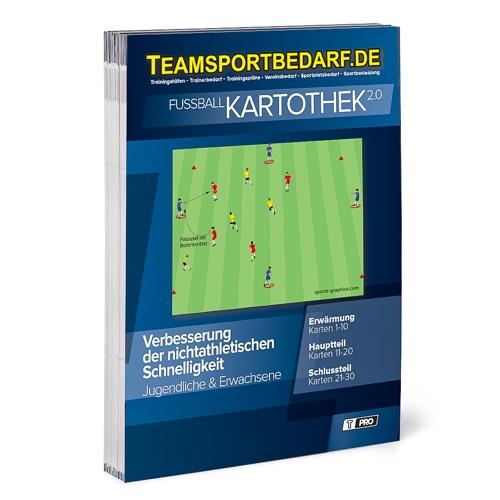 """T-PRO Kartothek 2.0 Fussball - """" Verbesserung der nichtathletischen Schnelligkeit"""""""