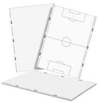 T-PRO Notizblock (25 Blatt) DIN A5 - Fussball