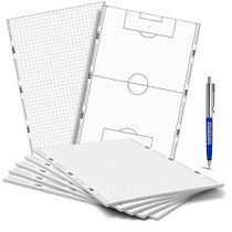 Set di 5 bloc notes T-PRO in formato DIN A5 – calcio
