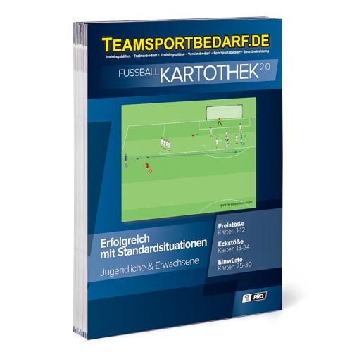 """T-PRO Kartothek 2.0 Fussball - """"Erfolgreich mit Standardsituationen"""""""