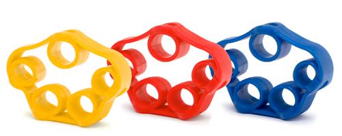 Fingertrainer - elastisch (3 Farben)