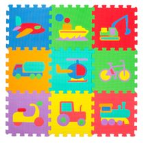 Puzzle mat (play mat) small – 60 pieces vehicles