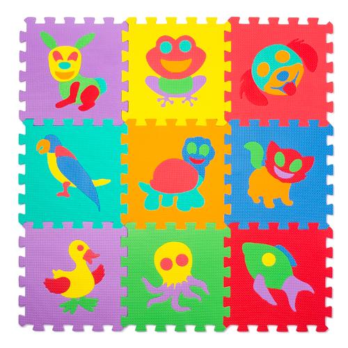 Puzzlematte (Spielmatte) 69-teilig - Tiere