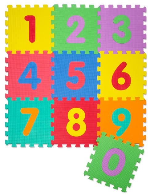 Puzzlematte (Spielmatte) 26-teilig - Zahlen
