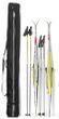 T-PRO Doppel Skitasche 210 cm - für 2 Paar Langlauf-Ski
