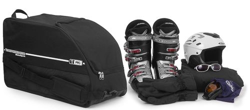 T-PRO Ski boots and helmet bag - for 1 Pair + helmet