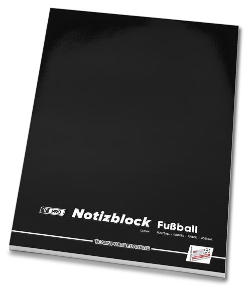T-PRO Notizblock (50 Blatt) DIN A4 - Fussball