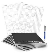 Set of 5 T-PRO Notepads DIN A4 – Football
