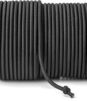 Rubber cord (ø5 mm) - colour: Black
