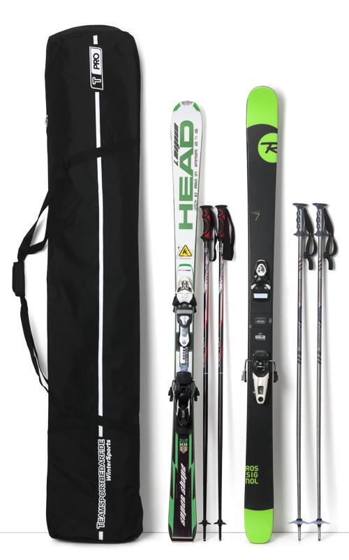 T-PRO Doppel Skitasche 195 cm - für 2 Paar Alpin-Ski