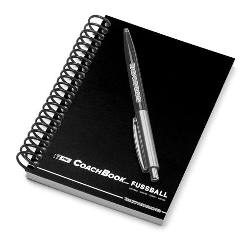 T-PRO CoachBook Mini DIN A6 - Fussball