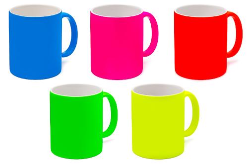 Neon-Tasse (5 Farben) 330 ml