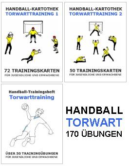 Handball Set - Torwarttraining 170 Einheiten