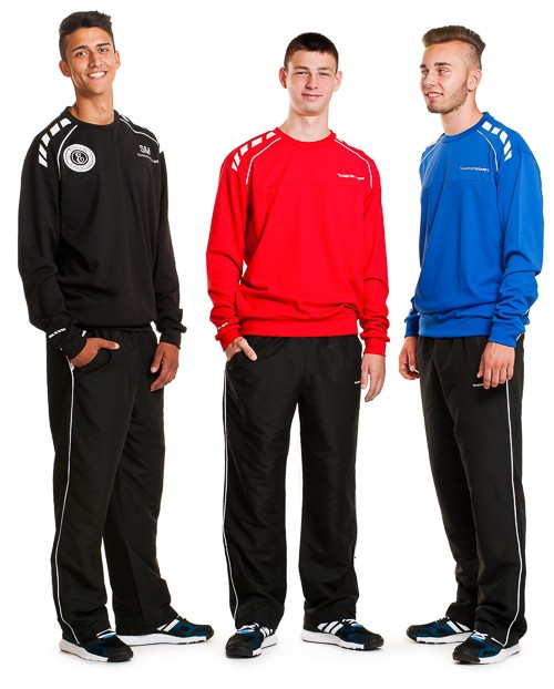Desired imprint - for training pullover