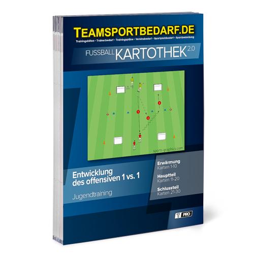 """T-PRO Kartothek 2.0 Fussball - """"Offensives 1:1"""""""