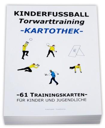 Fussball Trainingskartothek für Kinder (Schwerpunkt: Torwarttraining)