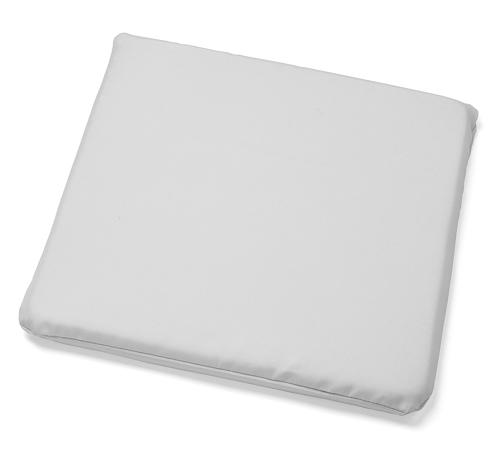 Sitzkissen (36 x 36 cm) - Farbe: Weiß